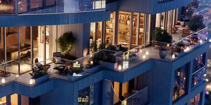 Herzog & De Meuron построит небоскреб One Park Drive в Лондоне