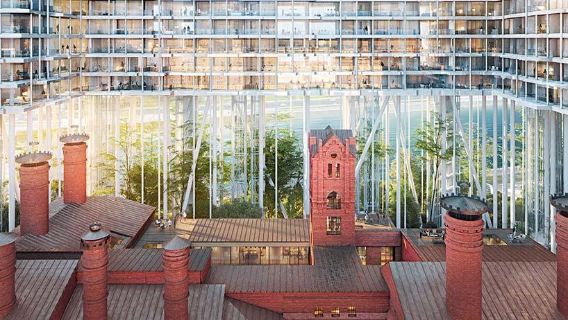 Горизонтальный небоскреб в Москве. Проект Herzog & De Meuron