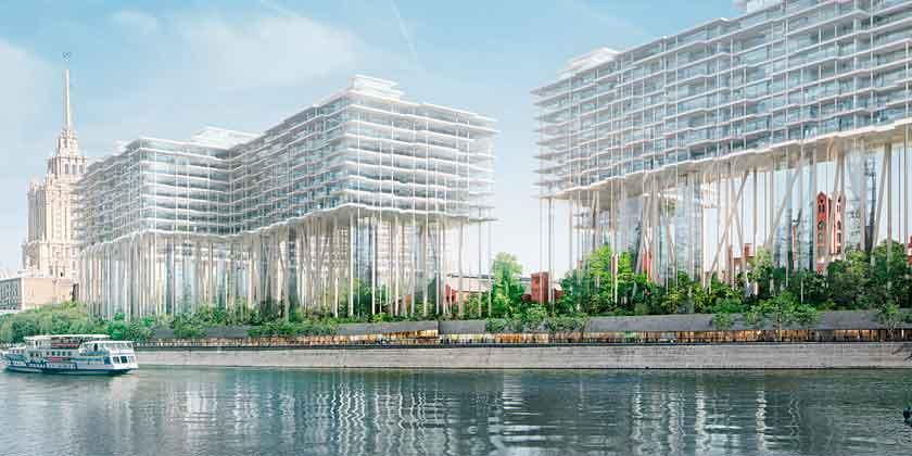 Herzog & De Meuron планирует фантастическую стройку в Москве