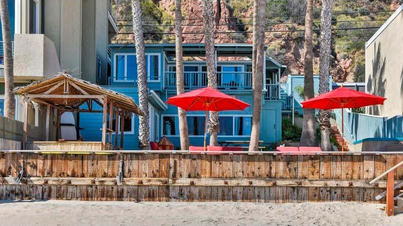 Пляжный дом Эдварда Нортона в Малибу
