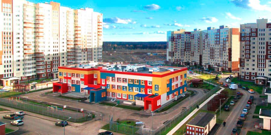 """Детский сад на территории ЖК """"Новые Ватутинки"""""""