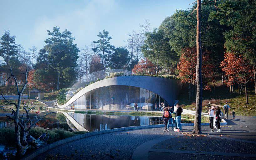 Ландшафтный аквариум «Царство Посейдона». Шёнбруннский зоопарк