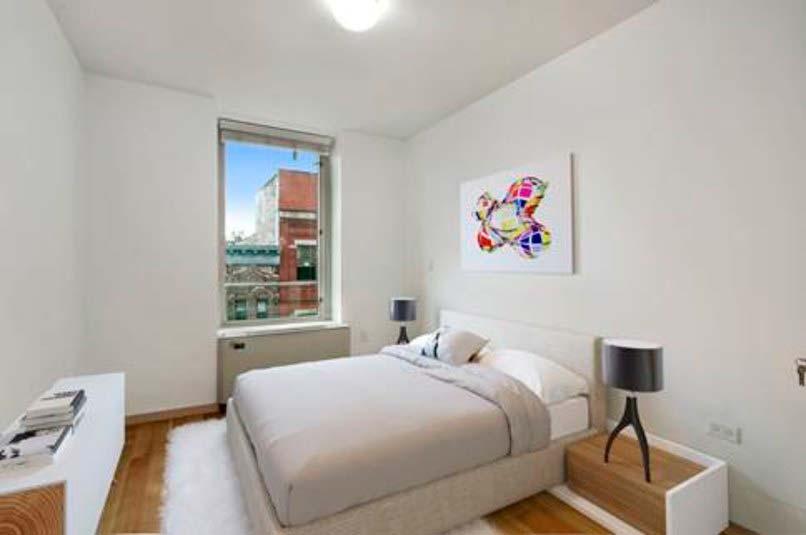 Квартира с двумя спальнями на Манхэттене