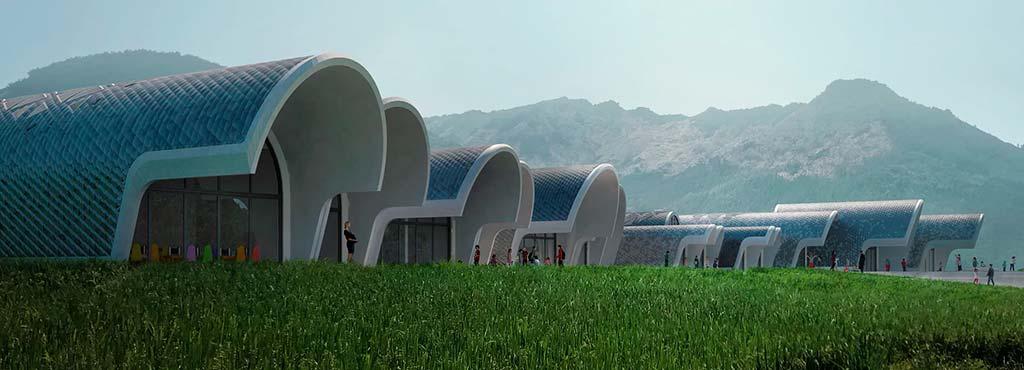 Начальная школа в Китае. Проект Zaha Hadid Architects