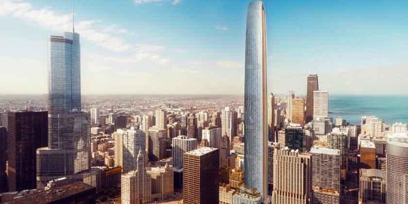 В Чикаго построят второй супер-небоскреб | фото