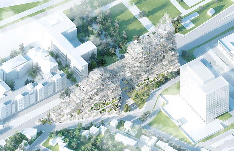 Вертикальная деревня в Париже, проект