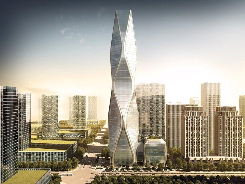 Небоскреб Hangzhou Wangchao Center