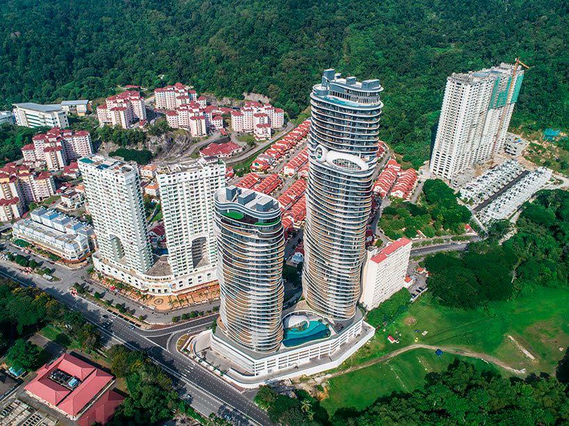 Новые небоскребы Arte S в Малайзии