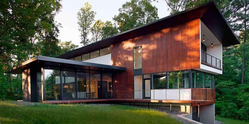 Большая база современных проектов домов на Z500