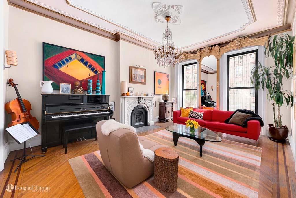 Квартира актрисы Холли Хантер в Бруклине, Нью-Йорк
