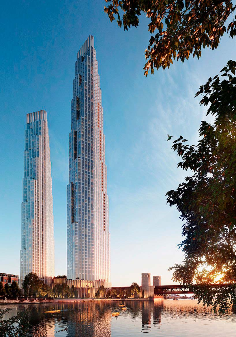 Новые небоскребы в Чикаго от SOM