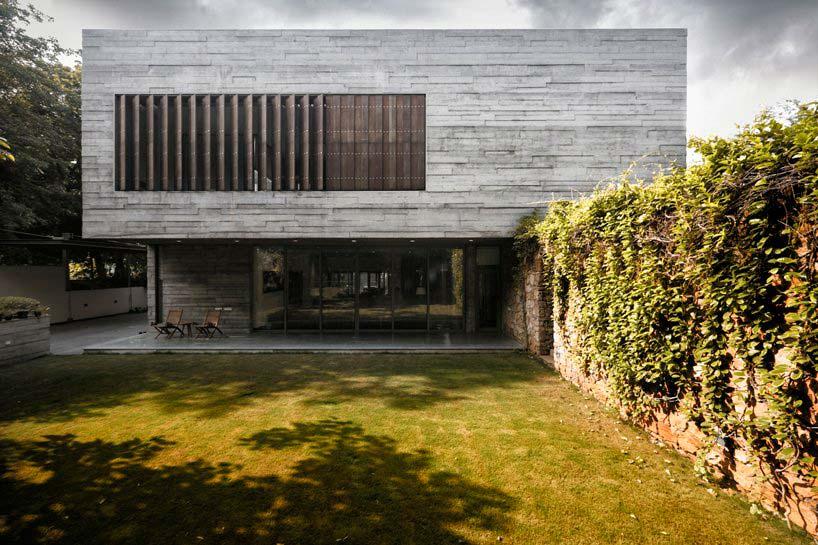 Современный дом из бетона. Проект FLXBL