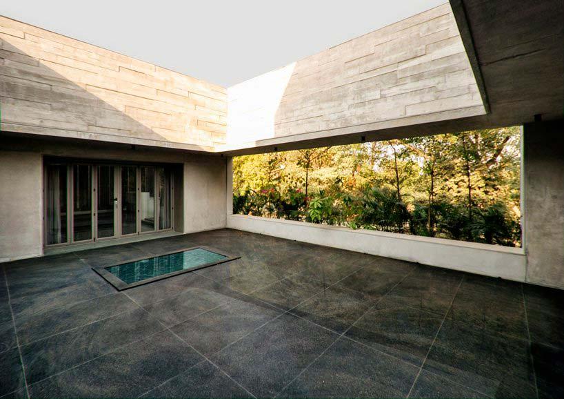 Терраса на крыше дома. Дизайн FLXBL