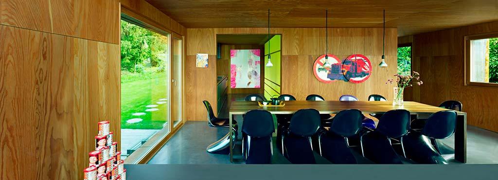 Авторский дизайн столовой в доме