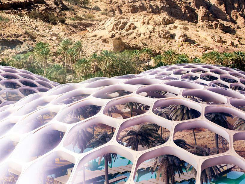 Энергонезависимое здание центра охраны дикой природы Biodomes