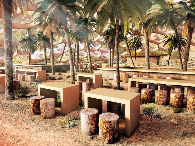 Проект Центра охраны дикой природы от Baharash Architecture
