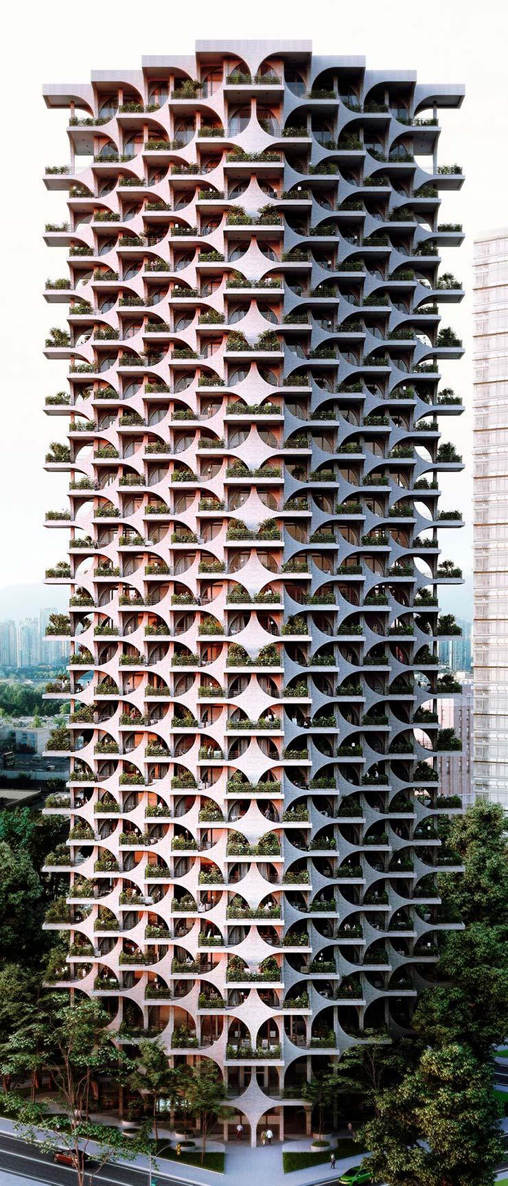 Небоскреб Tel Aviv Arcades на 18 этажей