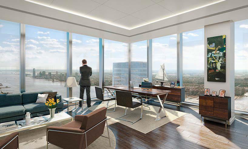 Офис в башне 30 Hudson Yards