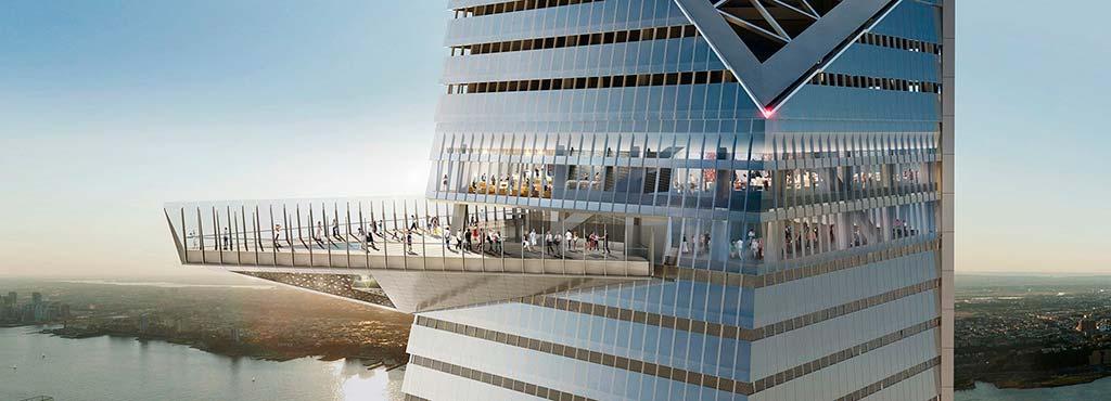 Внешняя смотровая площадка башни 30 Hudson Yards