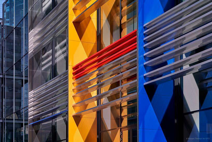 Кампус Европейского Патентного Ведомства от Жана Нувеля