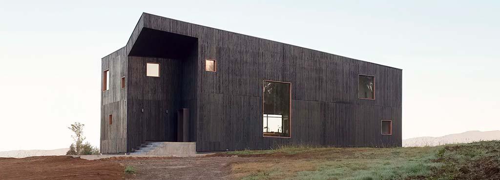 Скульптурный дизайн дома