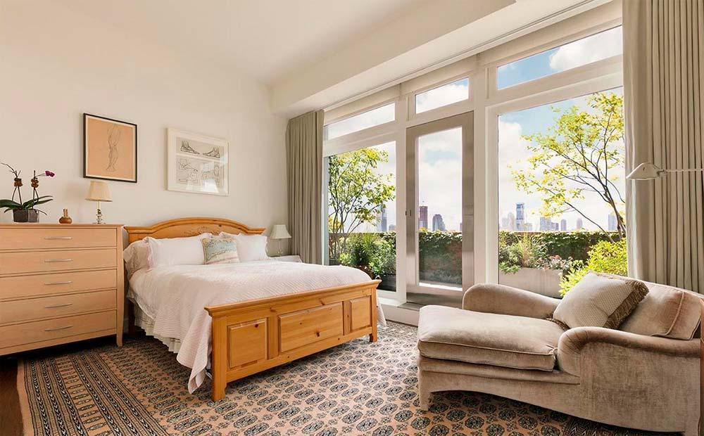 Одна из четырех спален в квартире