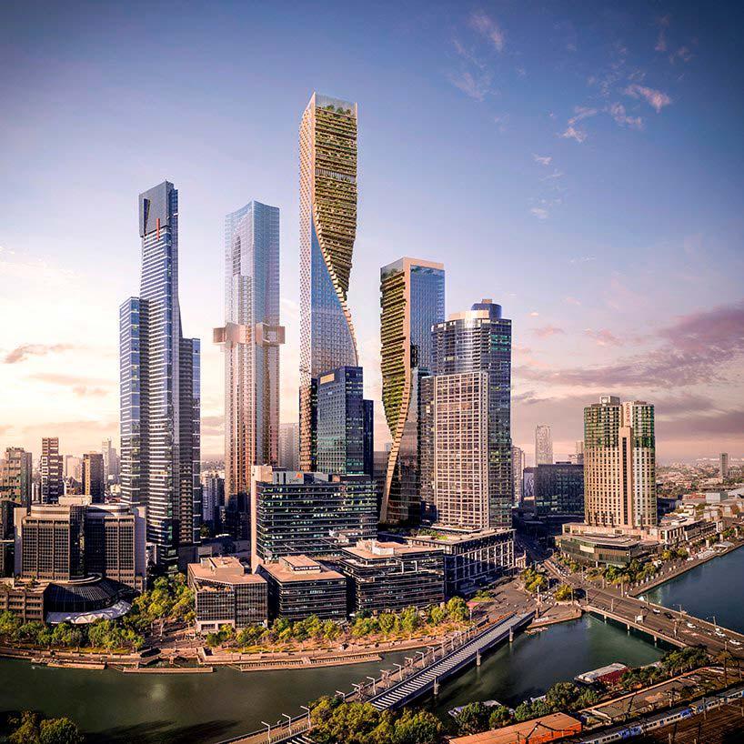 Самый высокий небоскреб Австралии от UNStudio