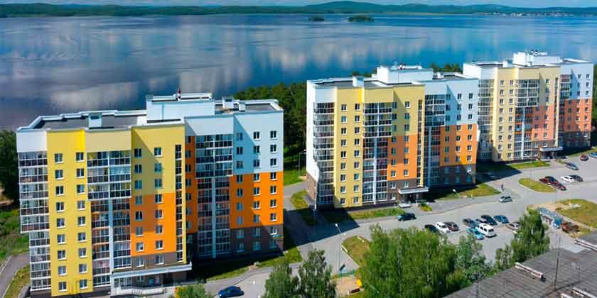 ЖК «Прибрежный» — квартиры на берегу озера в эконом сегменте