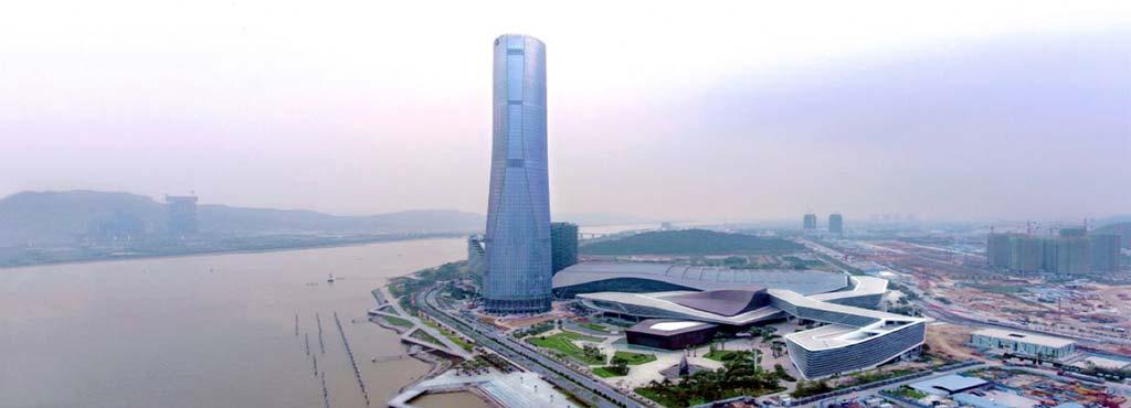 68-этажный небоскреб в Китае. Проект RMJM Architects