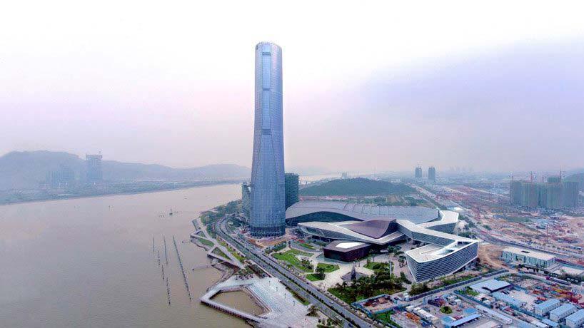 68-этажный небоскреб в Чжухае от RMJM Architects
