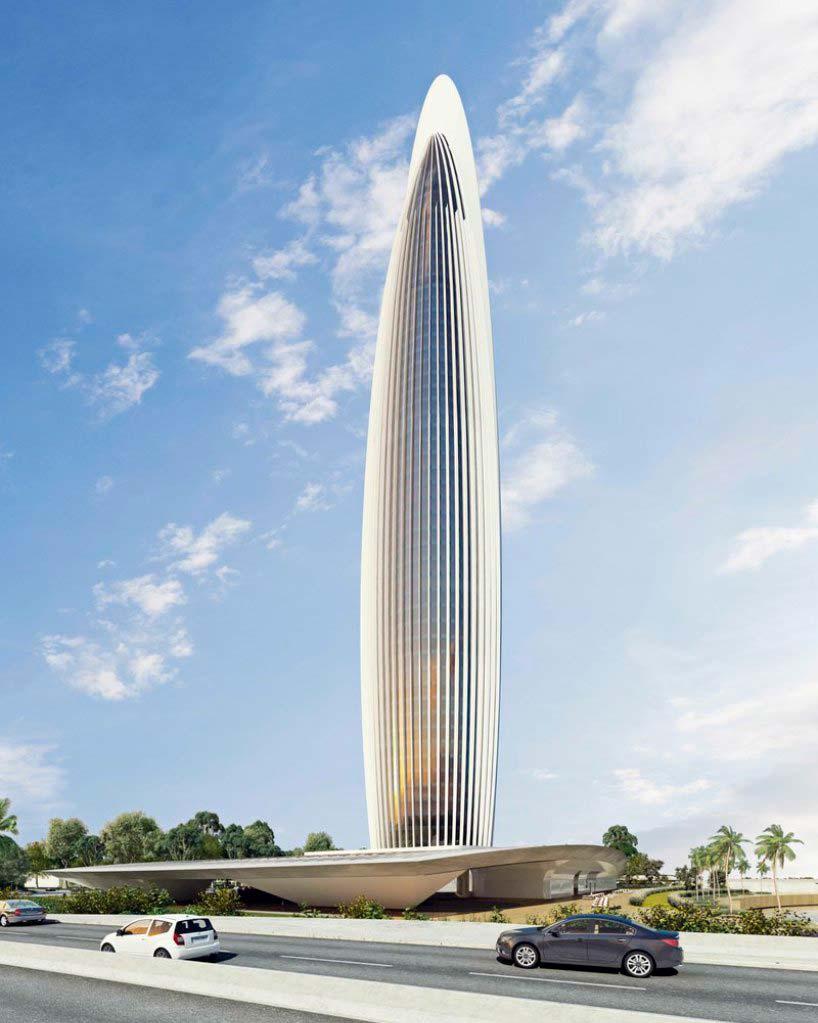 Bank of Africa Tower - самое высокое здание Африки