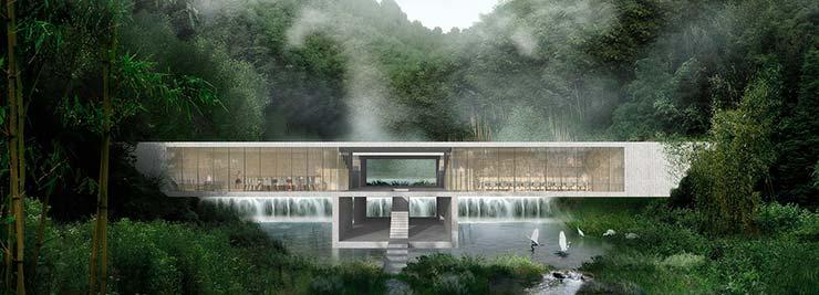 Курорт Yuansu в горячих источниках Китая от CLOU