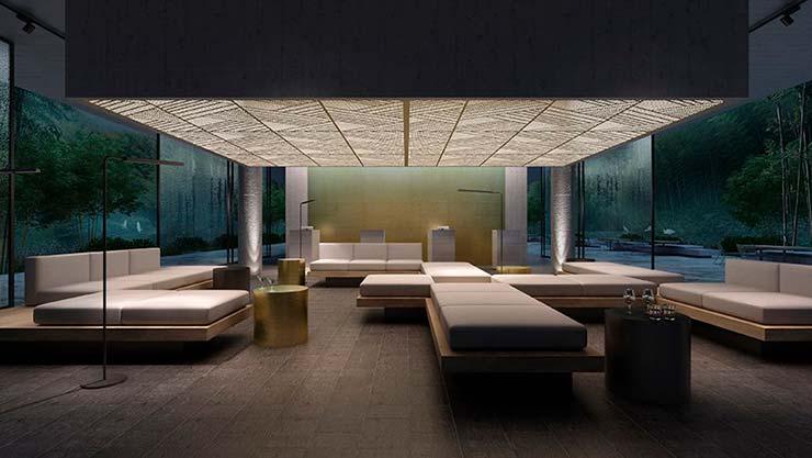 Дизайн виллы для курорта Yuansu от CLOU