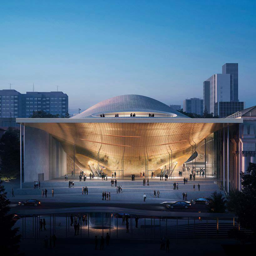 Концертный зал Свердловской филармонии от Zaha Hadid