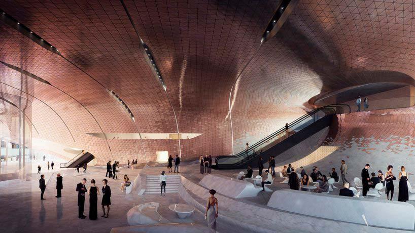 Дизайн Концертного зала Сведловской филармонии от Zaha Hadid