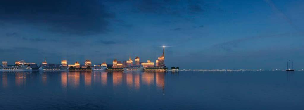 «Золотой город» на Васильевском острове - ворота Финского залива