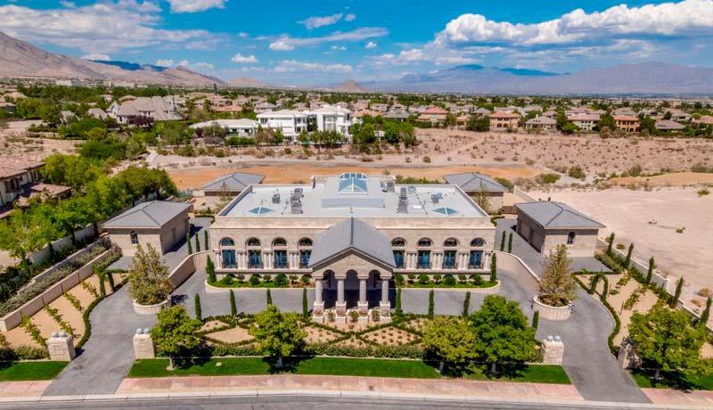 Дом боксера Флойда Мейвезера в Лас-Вегасе