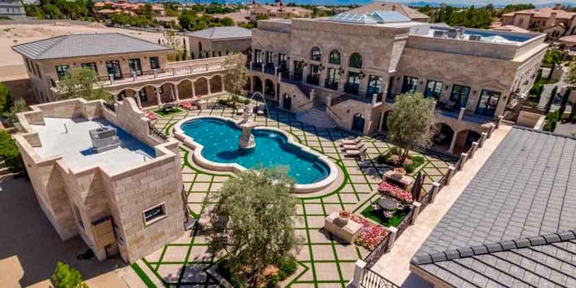 Боксёр Флойд Мейвезер купил виллу в Лас-Вегасе. Цена $10 млн