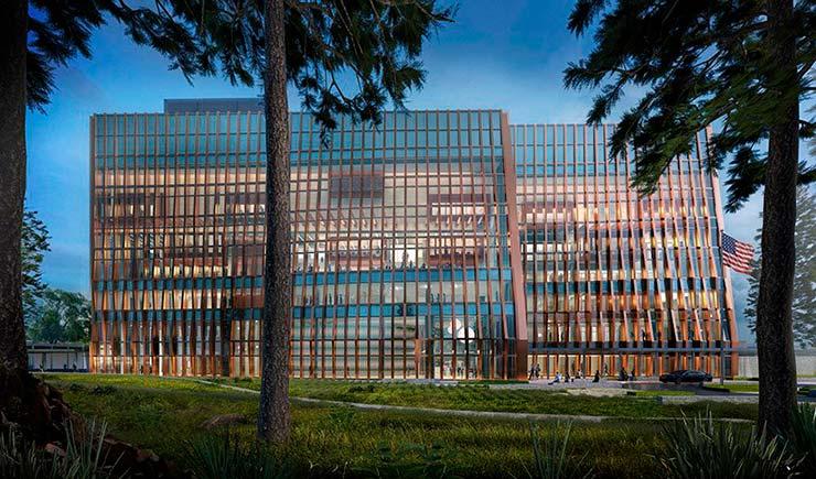 Здание Консульства США в Гондурасе. Проект SHoP Architects