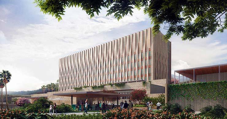 Здание Посольства США в Гондурасе. Проект SHoP Architects