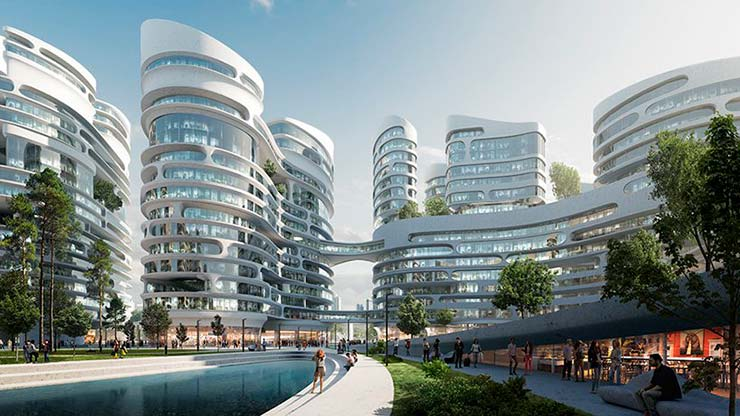 Проект Zaha Hadid Architects и TPO Pride Architects для Москвы