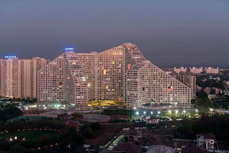 ЖК Future Towers на 1000 квартир в Индии от MVRDV