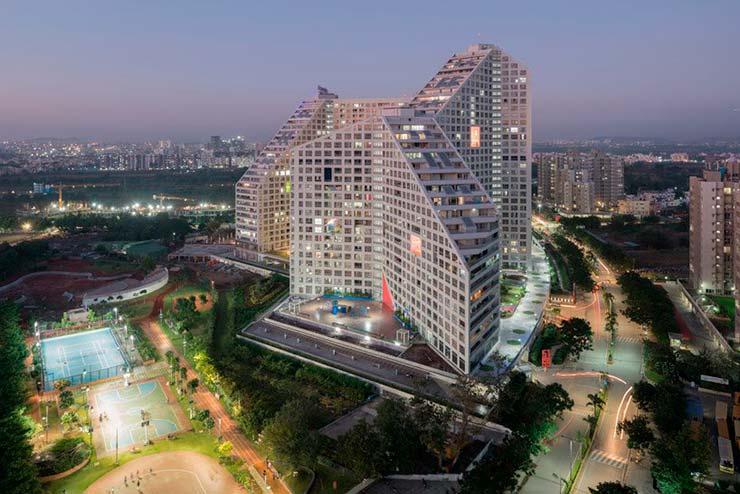 ЖК Future Towers в городе Пуна от MVRDV