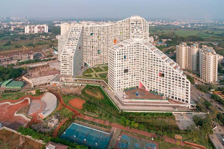 Индийский ЖК Future Towers в городе Пуна от MVRDV