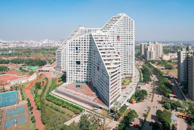 ЖК Future Towers на 1000 квартир от MVRDV