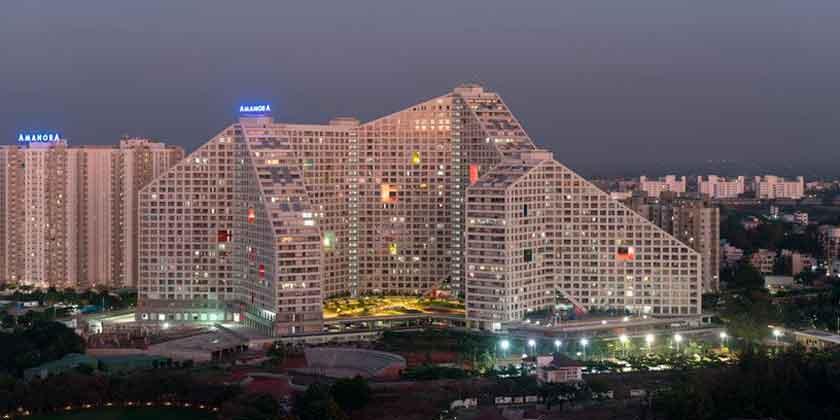 MVRDV построила ЖК Future Towers на 1000 квартир в Индии