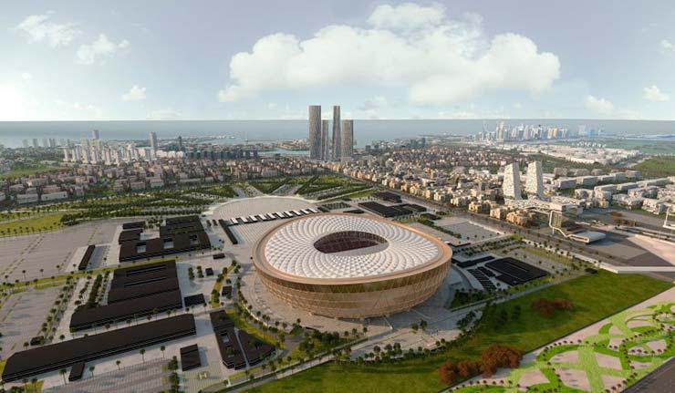 Стадион для Чемпионата мира по футболу 2022 года в Катаре от Нормана Фостера