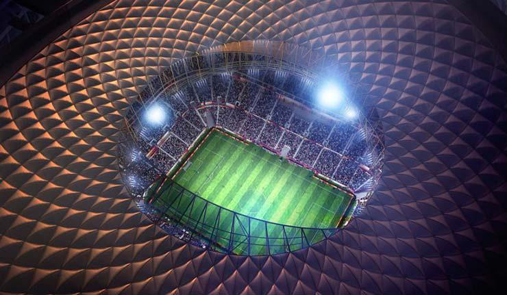 Футбольный стадион на 80 000 мест от Foster + Partners