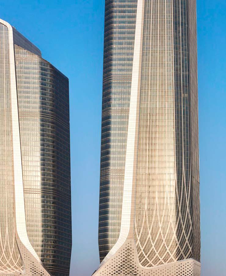 Самые высокие башни Zaha Hadid Architects