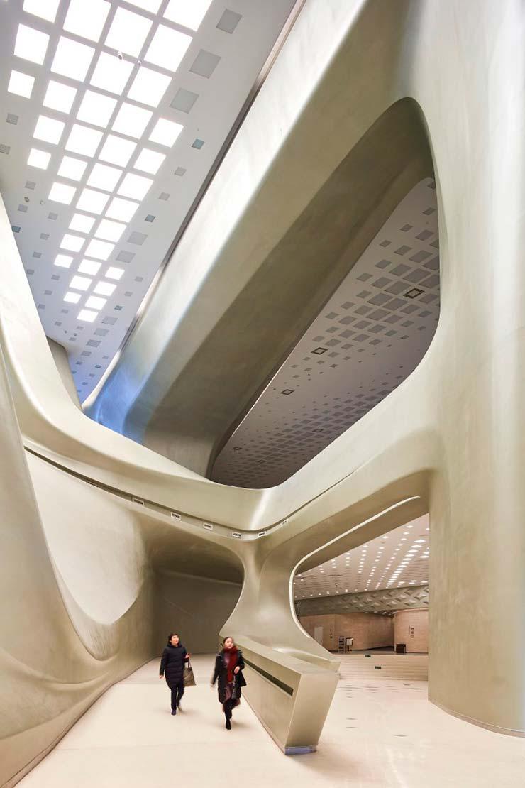 Дизайн Nanjing International Youth Cultural Centre в Китае